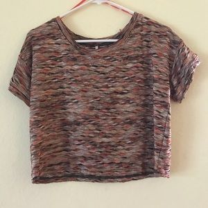 Free People Knit top, sz XS, multicolor, used